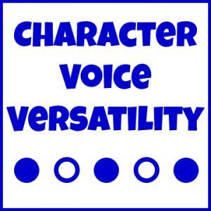 Character-VoiceVersatility