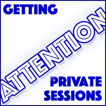 Getting Attention, Audiobook Private Session Set